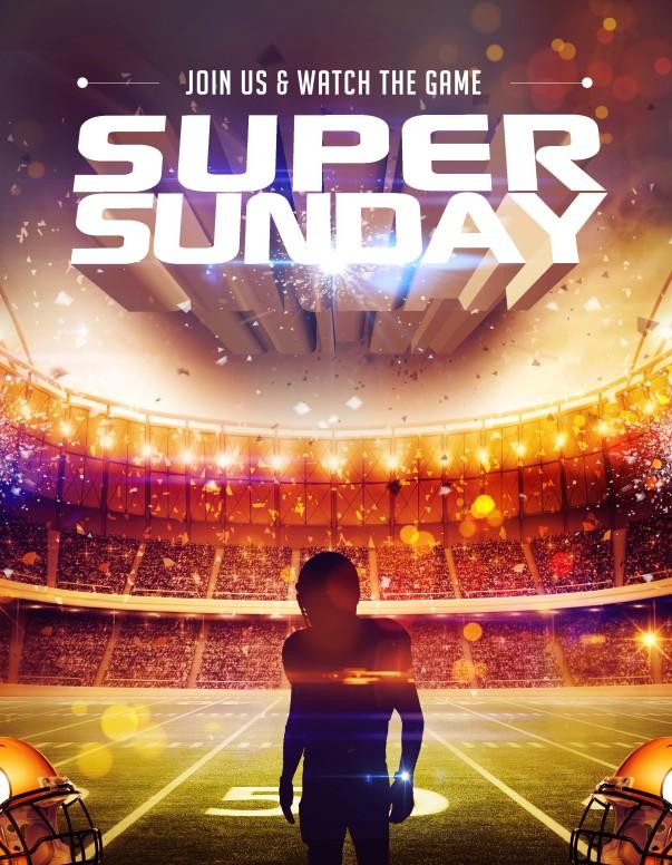 Super Sunday Ministry Flyer