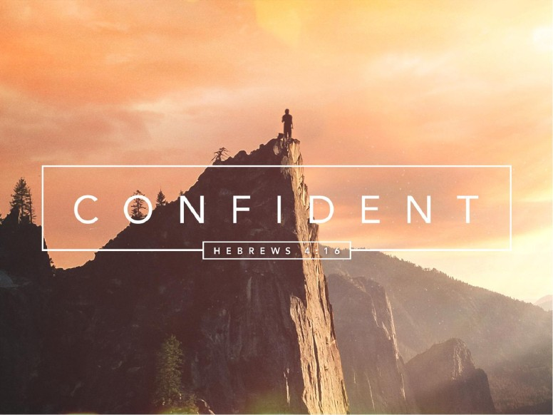Confident Christian PowerPoint Template