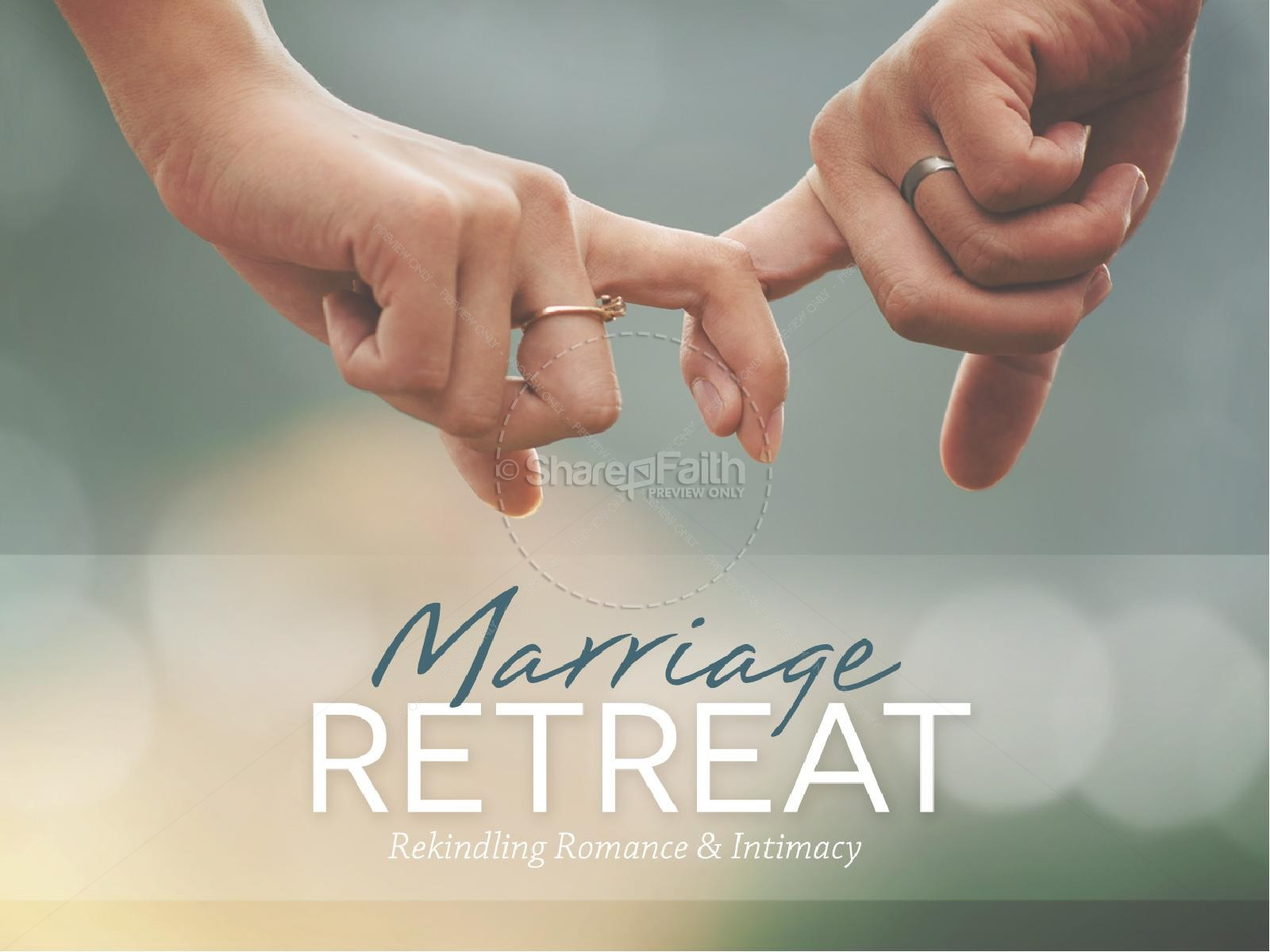 Marriage Retreat Ministry PowerPoint