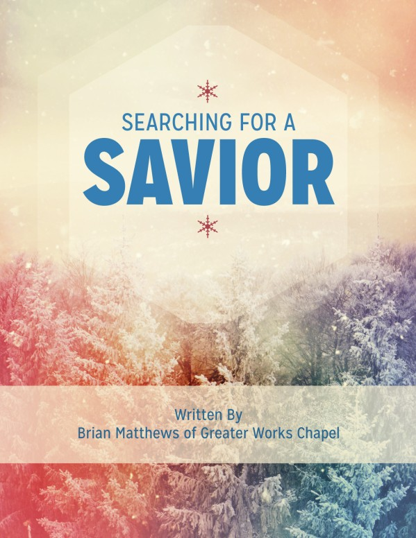 Searching for a Savior Christian Flyer