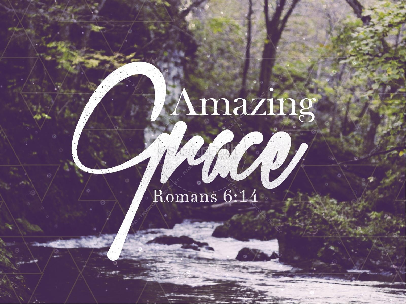 Amazing Grace Christian PowerPoint