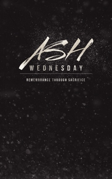 Ash Wednesday Remembrance Ministry Bulletin