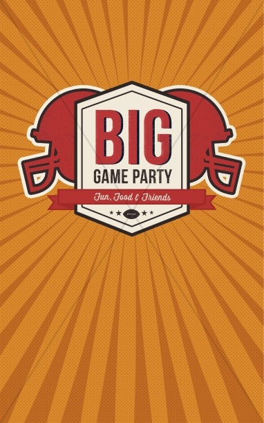 Big Game Party Ministry Bulletin