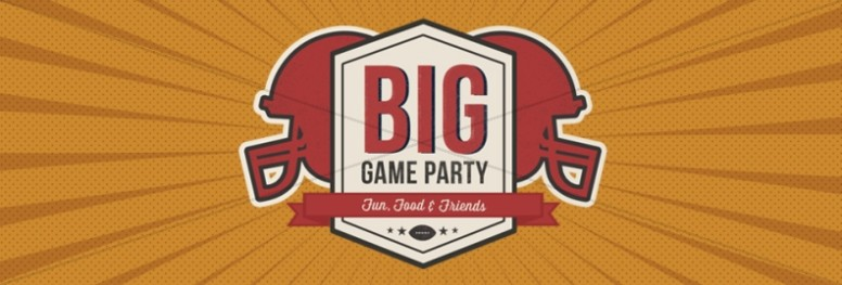 Big Game Party Ministry Web Banner