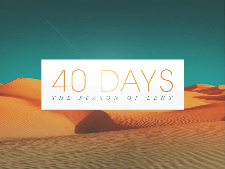 Forty Days of Lent Religious PowerPoint