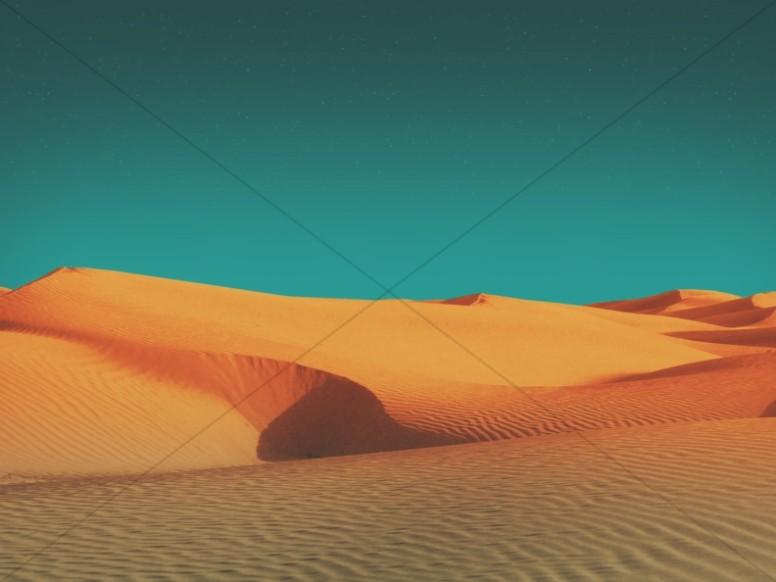 Forty Days of Lent Desert Worship Still