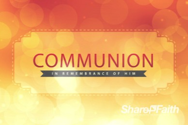 Wishing a Happy New Year Ministry Communion Video