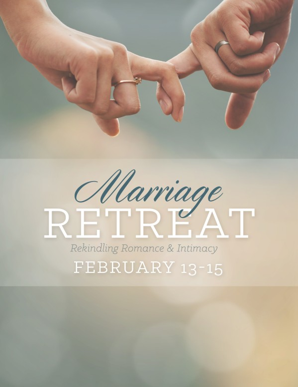 Marriage Retreat Ministry Flyer