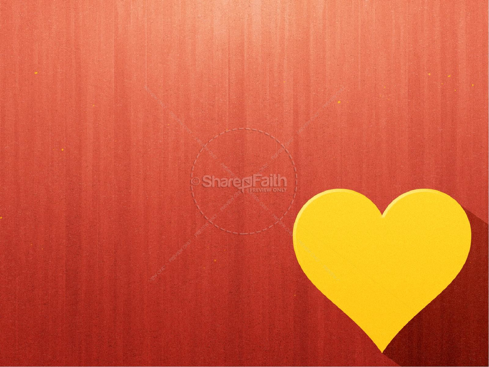 Happy Valentine's Day Greeting Ministry PowerPoint