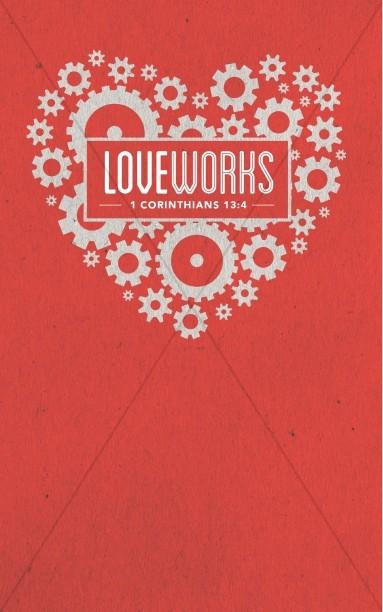 Love Works Church Bulletin