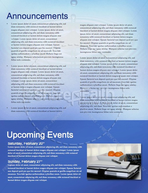 The Ripple Effect Christian Newsletter