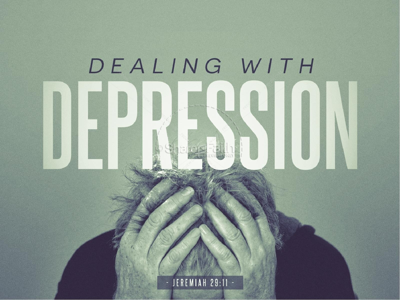 Dealing with Depression Christian PowerPoint