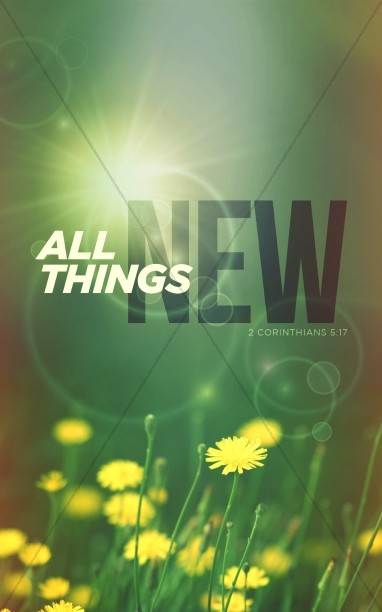 All Things New Religious Bulletin