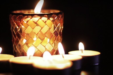 Burning Candle Series Ministry Motion Background Video