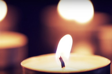 Burning Candle Church Worship Video
