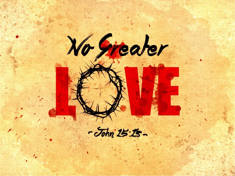 No Greater Love Church PowerPoint Template