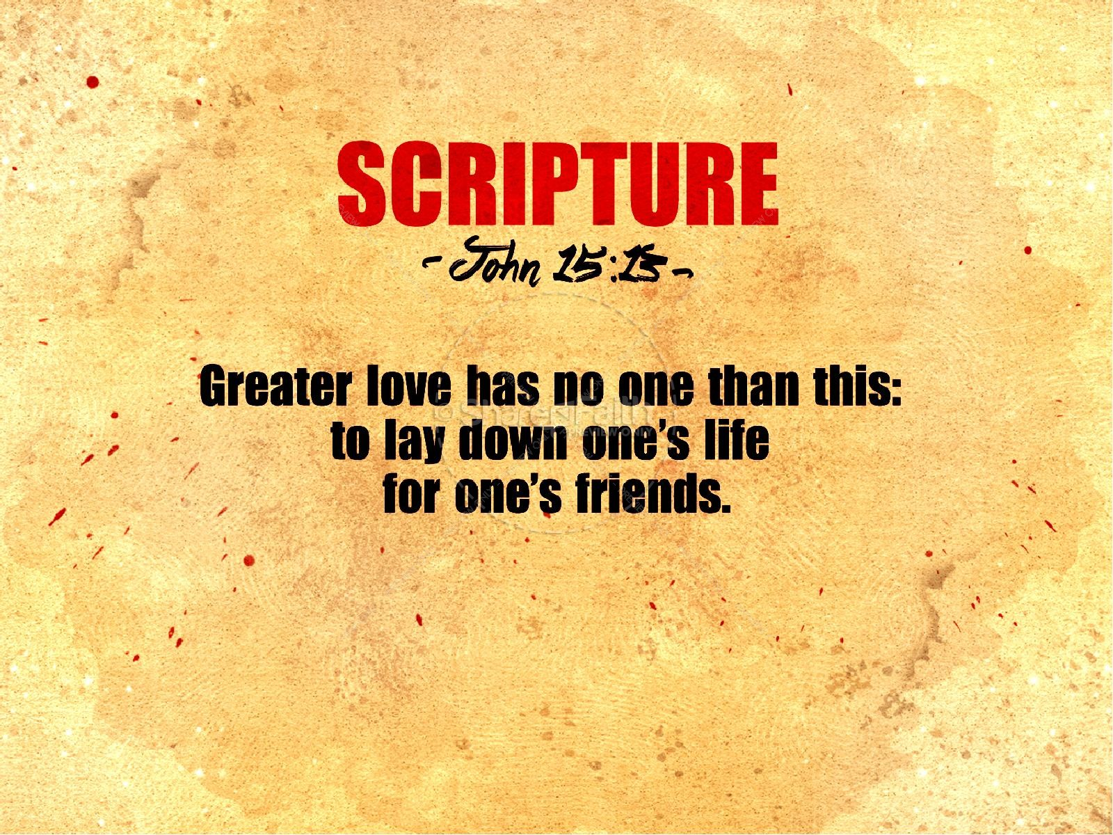 No Greater Love Church PowerPoint Template | slide 4
