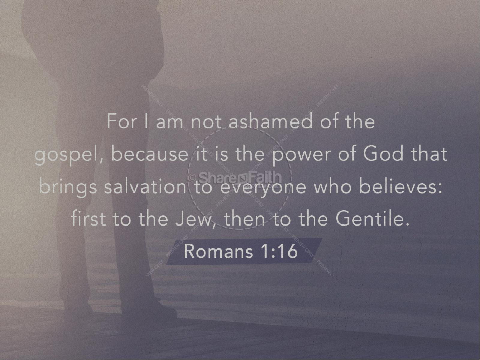 Not Ashamed Church PowerPoint | slide 4