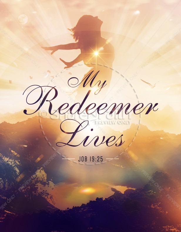 My Redeemer Lives Ministry Flyer