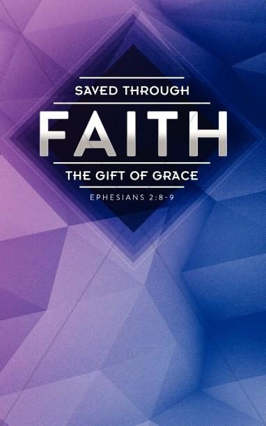 Saved Through Faith Religious Bulletin