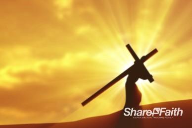 Worship at the Cross Christian Video Loop