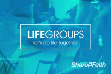 Life Groups Christian Welcome Video