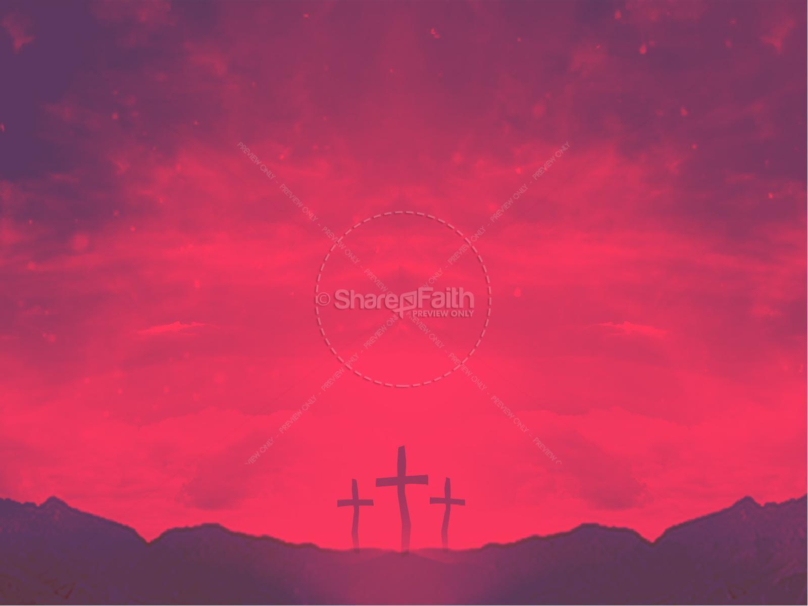Good Friday Healed Christian PowerPoint