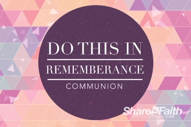A Pure Heart Christian Communion Video Loop