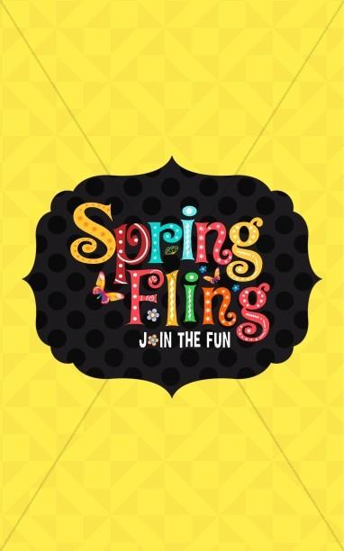 Spring Fling Ministry Bulletin
