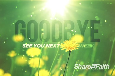 All Things New Religious Goodbye Motion Video