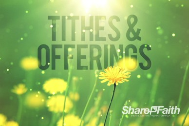All Things New Religious Tithes and Offerings Video