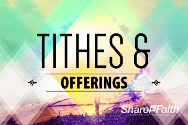 Called by Name Church Tithes and Offerings Motion Video