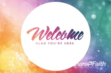 Easter Celebrate With Us Easter Welcome Video Loop