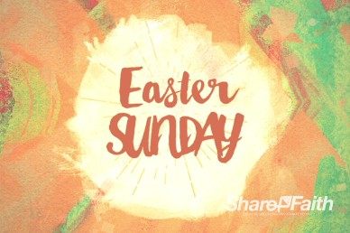 Easter Sunday Ministry Welcome Video Loop