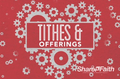 Love Works Church Tithes and Offerings Video Loop