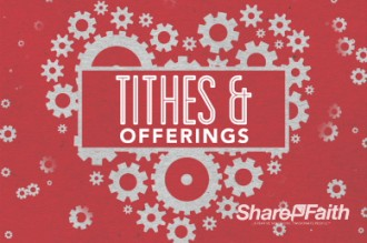 Love Works Church Tithes And Offerings Video Loop Church Motion