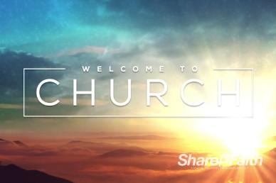Resurrection Sunday Welcome Video Loop