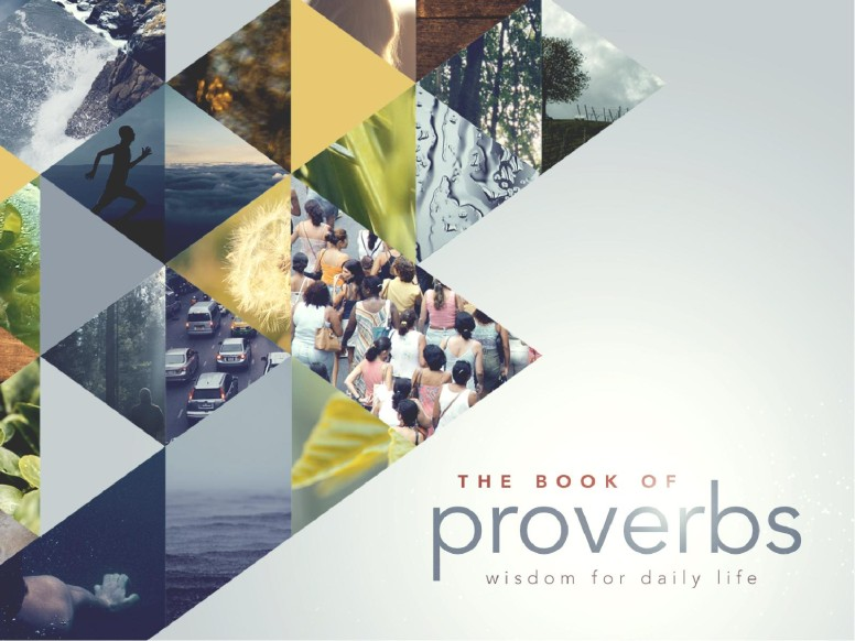 The Book of Proverbs Ministry PowerPoint