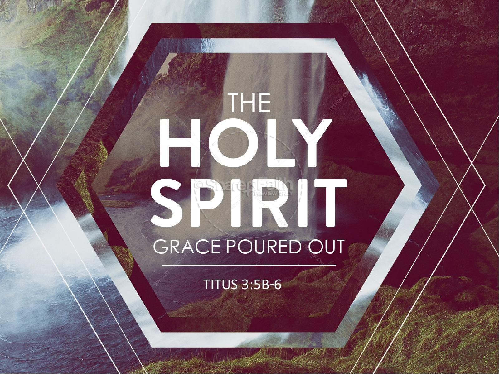 The Holy Spirit Grace Church PowerPoint