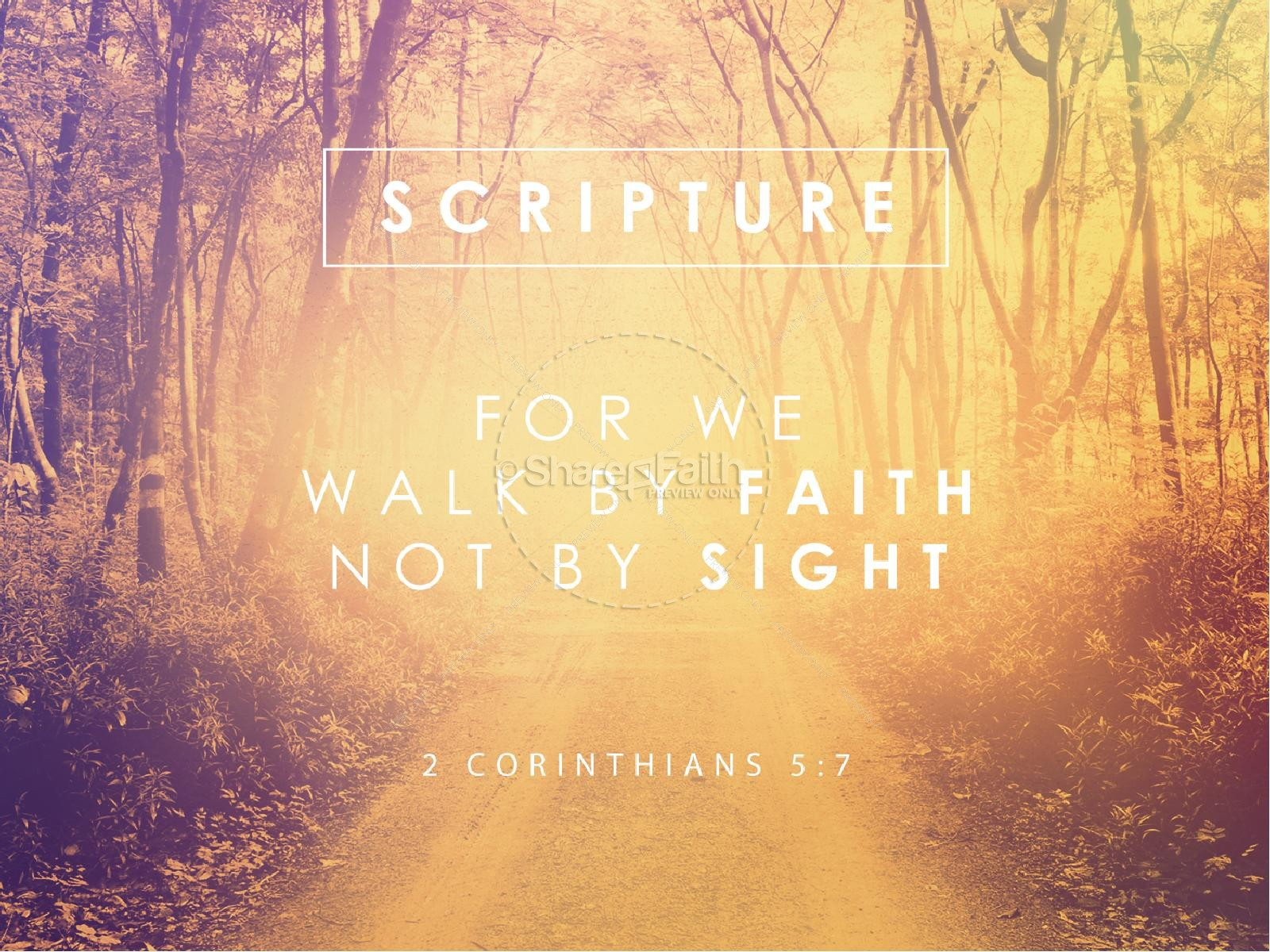 Walk by Faith Ministry PowerPoint