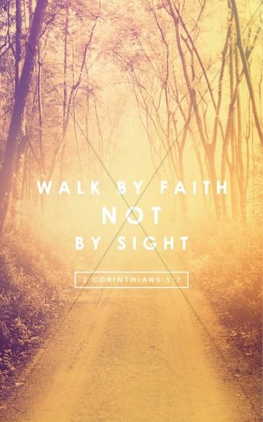 Walk by Faith Ministry Bulletin