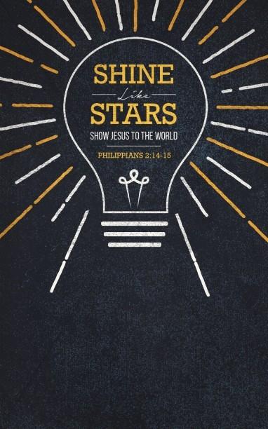 Shine Like Stars Church Bulletin