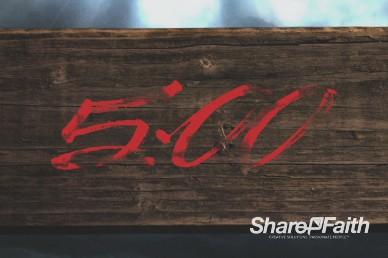 True Love Church Five Minute Countdown Video
