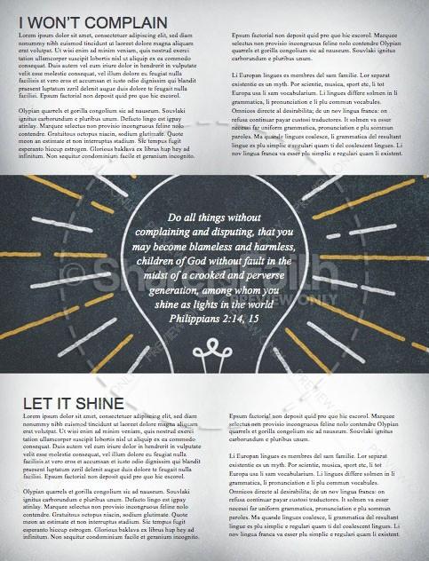 Shine Like Stars Church Newsletter