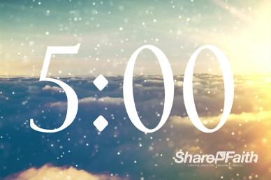 Sparkle Cloud 5 Minute Church Video Countdown