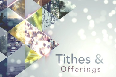 World Tithes and Offering Church Video Loop