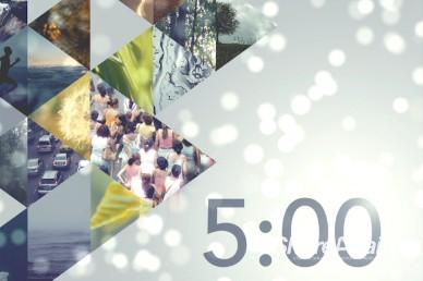 World 5 Minute Countdown Video Timer Loop