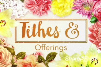Very Floral Mothers Day Religious Video Background Church Motion