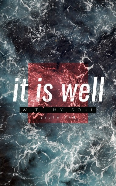 It is Well Ministry Bulletin