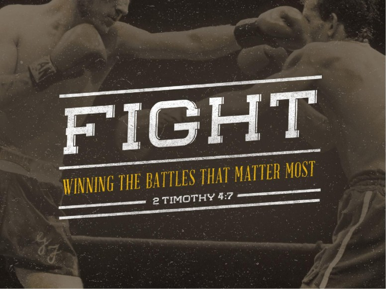 Fight the Good Fight Ministry PowerPoint